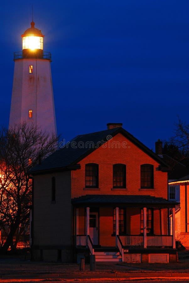 Sandy Hook Light fotos de archivo