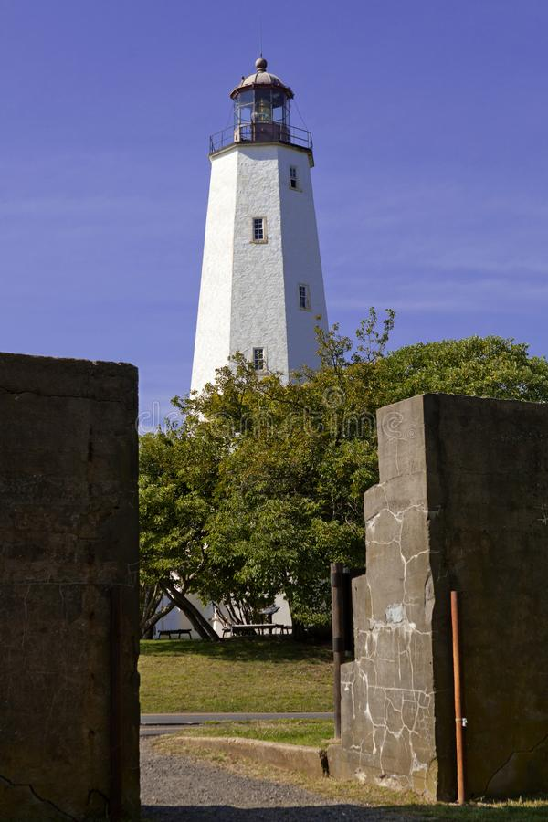 Sandy Hook Lighthouse photos stock