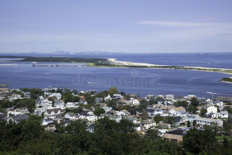 Sandy Hook View royalty-vrije stock afbeeldingen