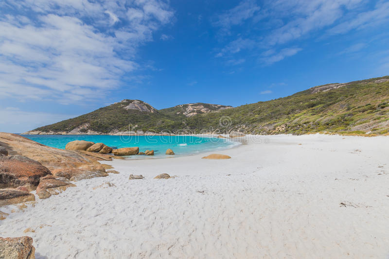 Sandy Little Beach, Albany Western Australia royalty free stock images