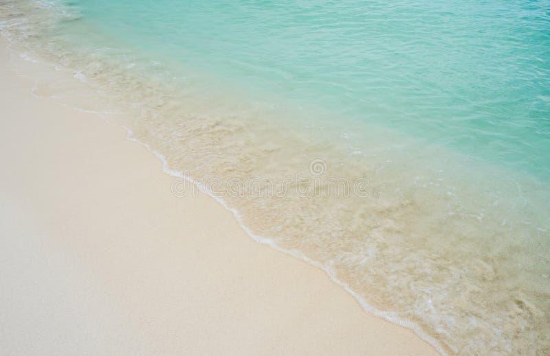 Sandy Ocean Beach imagens de stock royalty free