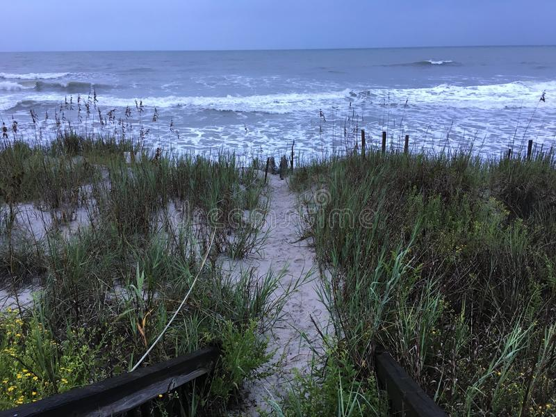 Sandy Path lizenzfreie stockfotografie