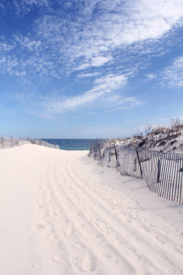 Download Sandy Path To The Beach Royalty Free Stock Image - Image: 24123976