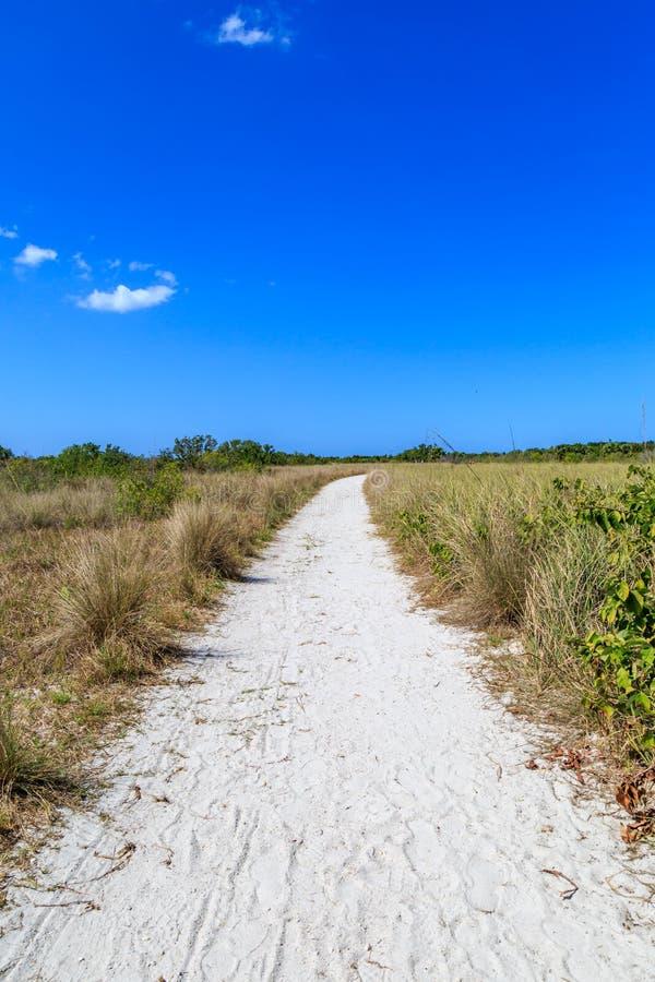 Sandy Pathway foto de stock