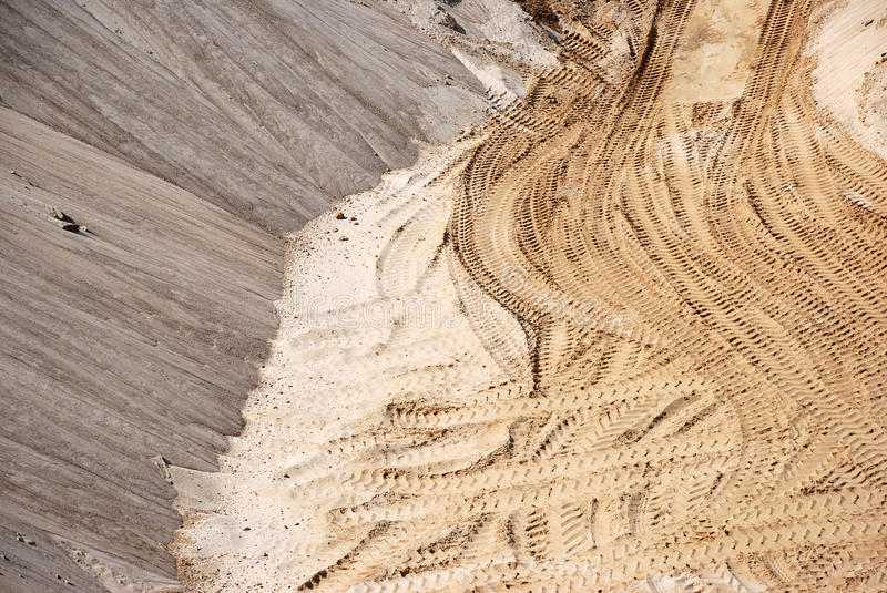 Download A sandy pit stock image. Image of texture, industry, natural - 22697359
