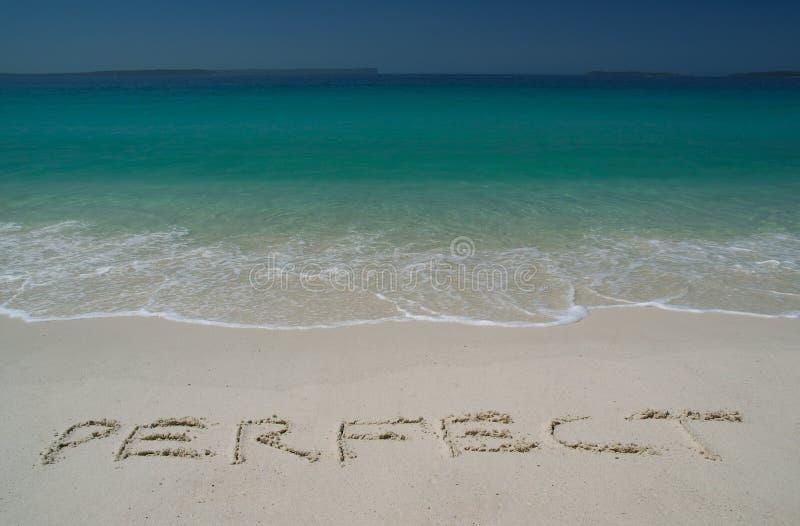 sandy plażowy tropikalny zdjęcie royalty free