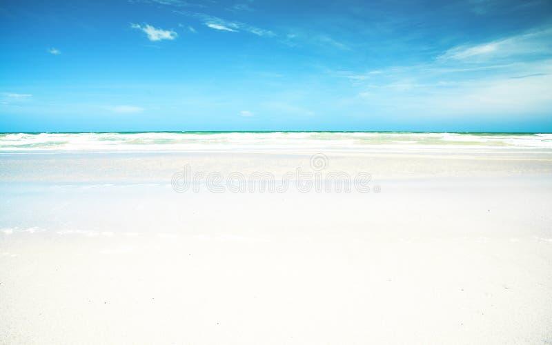 sandy plażowy white fotografia stock