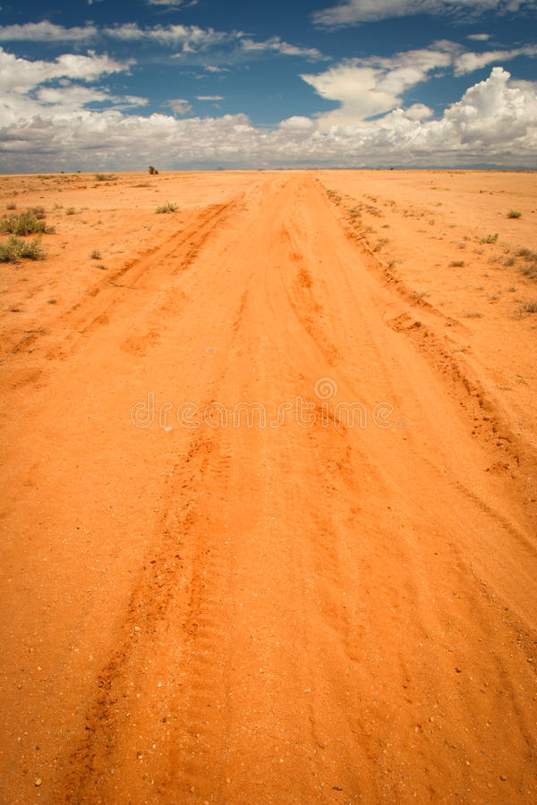 Download Sandy Road, Kenya Stock Photo - Image: 23775890