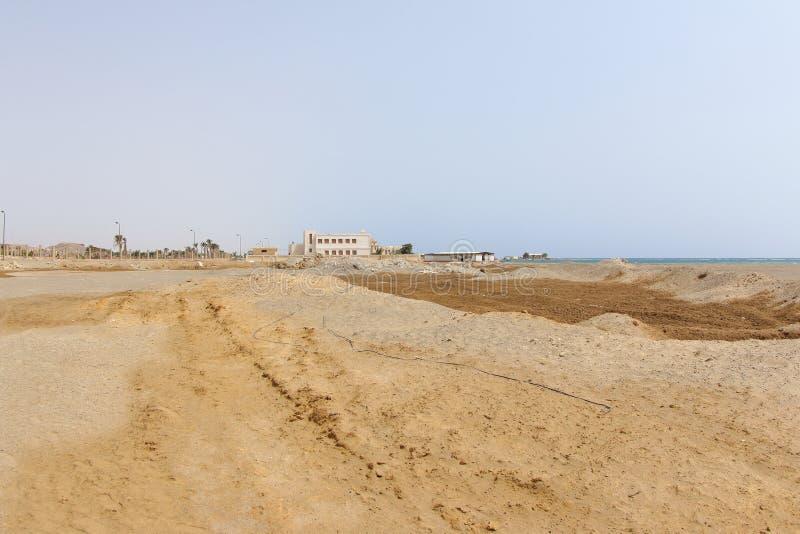 Sandy Shore, Marsa Alam, Egitto immagini stock libere da diritti