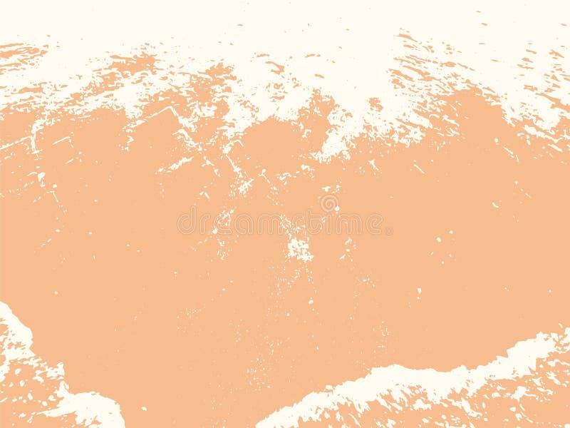 Sandy Shore Texture Vector Background anaranjado libre illustration