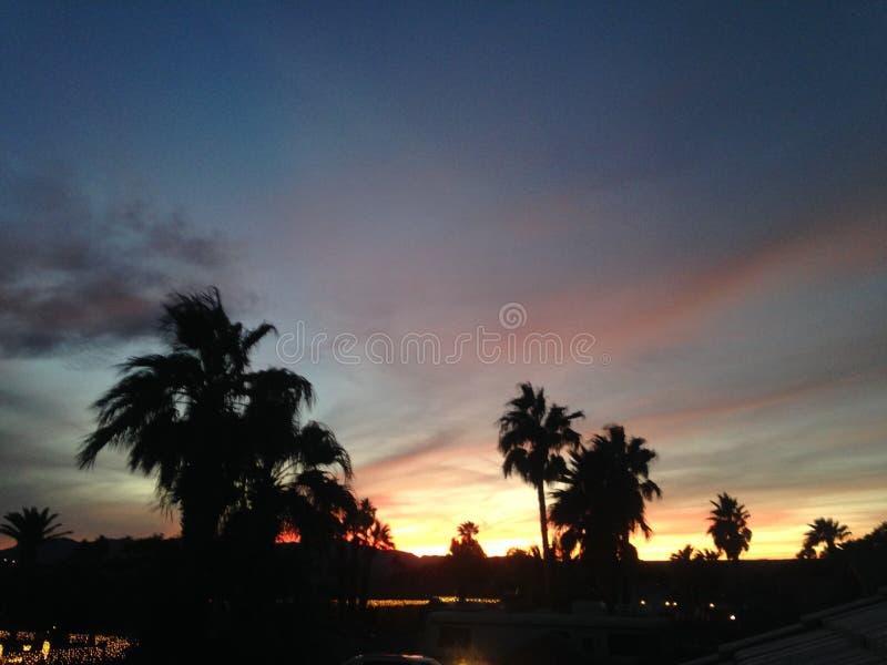 Sandy Sunset photo libre de droits