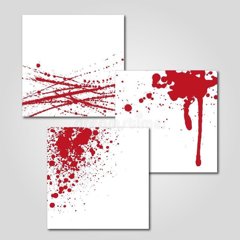 Sang d'éclaboussure photos libres de droits