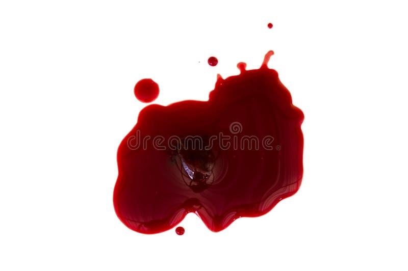 Sang et caillot sanguin photos stock