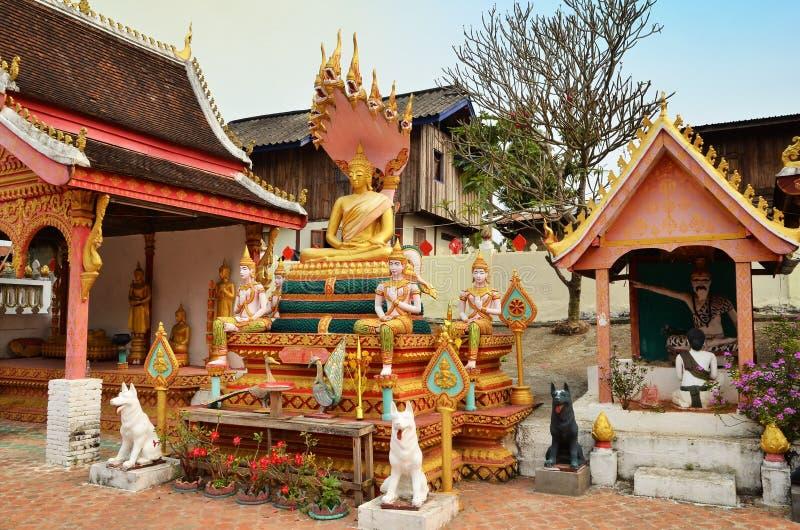 Sang Ha temple Laos stock images