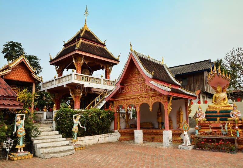 Sang Ha temple Laos stock photos