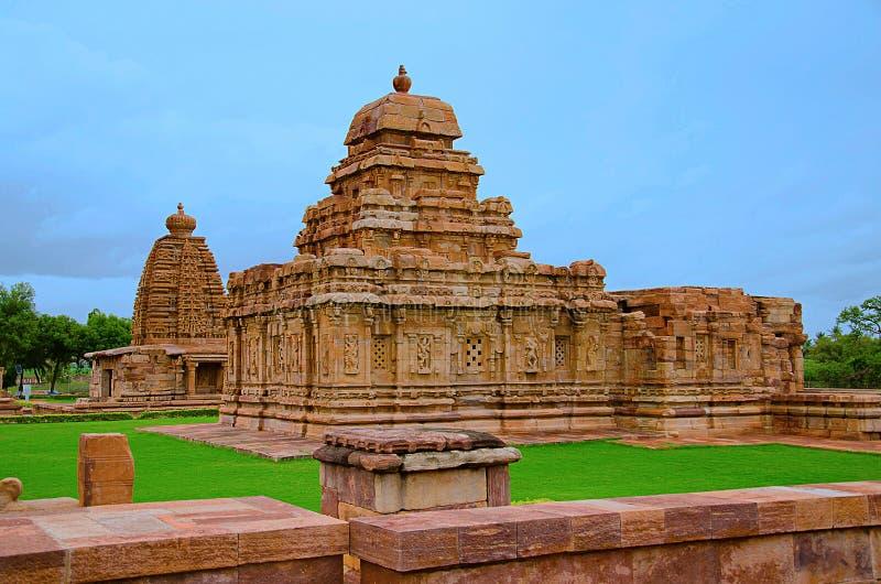 Sangameshvara-Tempel, Pattadakal, UNESCO-Welterbestätte, Karnataka stockbilder