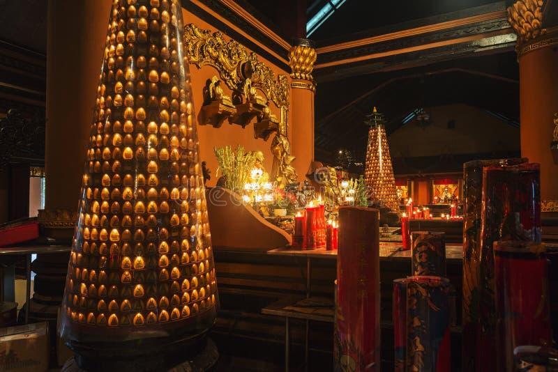 Sanggar Agung Temple, Soerabaya fotografia stock libera da diritti