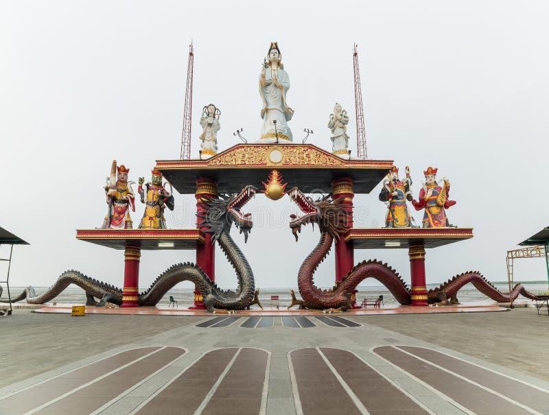 Sanggar Agung Temple, Surabaya lizenzfreie stockbilder