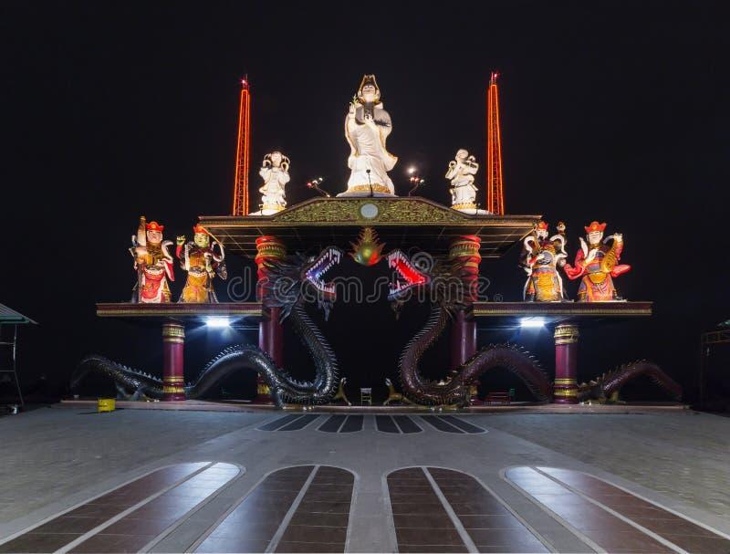 Sanggar Agung Temple, Surabaya stockfoto