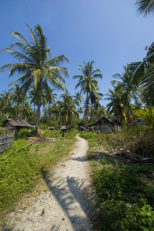 Sangiang Island, Banten. Indonesia royalty free stock photography