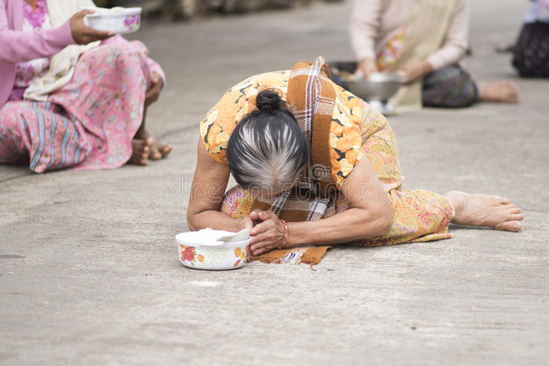Sangkhlaburi, Tailândia - 21 de novembro de 2014 foto de stock