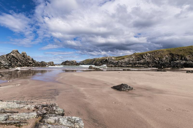 Sango bay. Near Durness in Southerland, on the north coast of Scotland stock photo