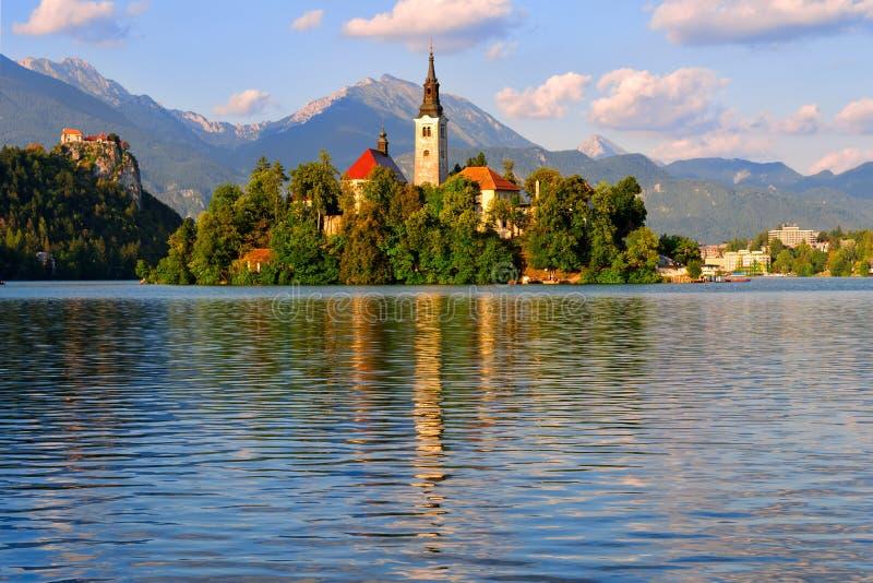 Sangrado, Eslovênia foto de stock royalty free