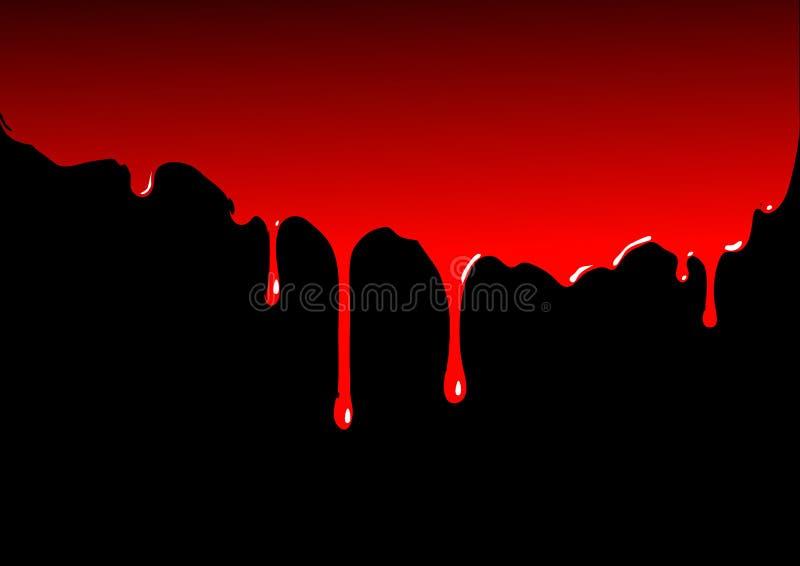 Sangre stock de ilustración