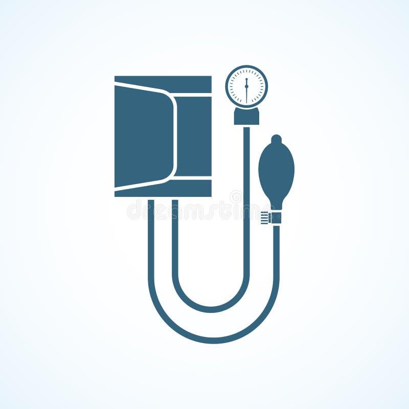 Sangre arterial de medición stock de ilustración