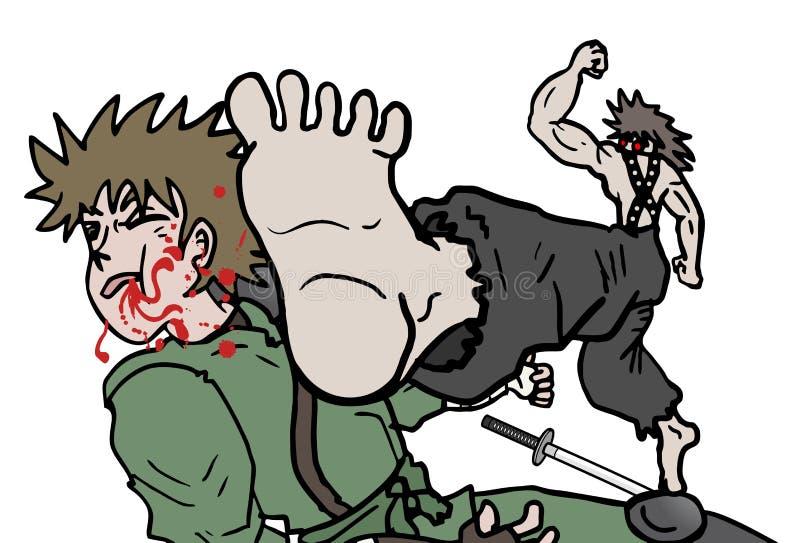 Sangre de la lucha libre illustration