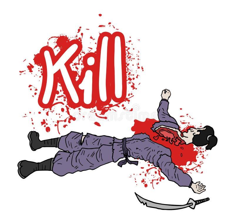 Sangre derramada de la matanza libre illustration