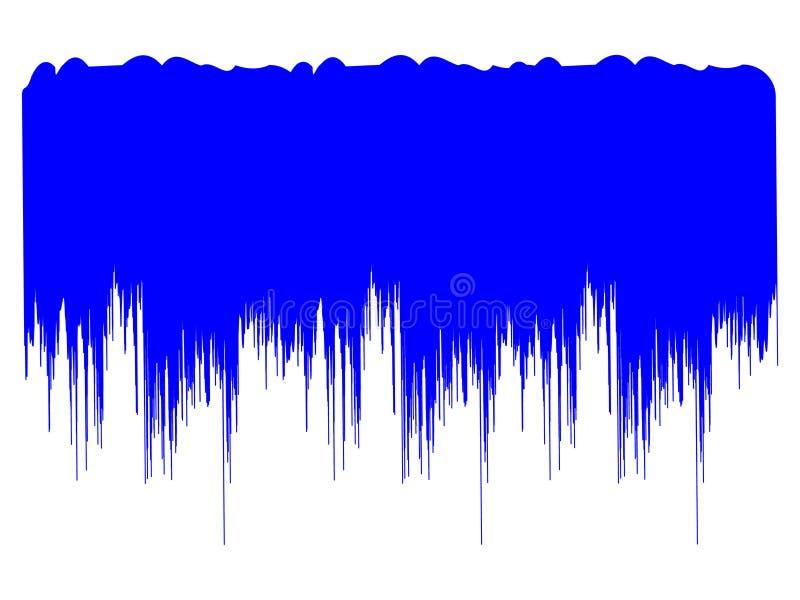Sangue azul ilustração do vetor
