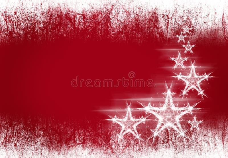 Sangue e estrelas ilustração royalty free