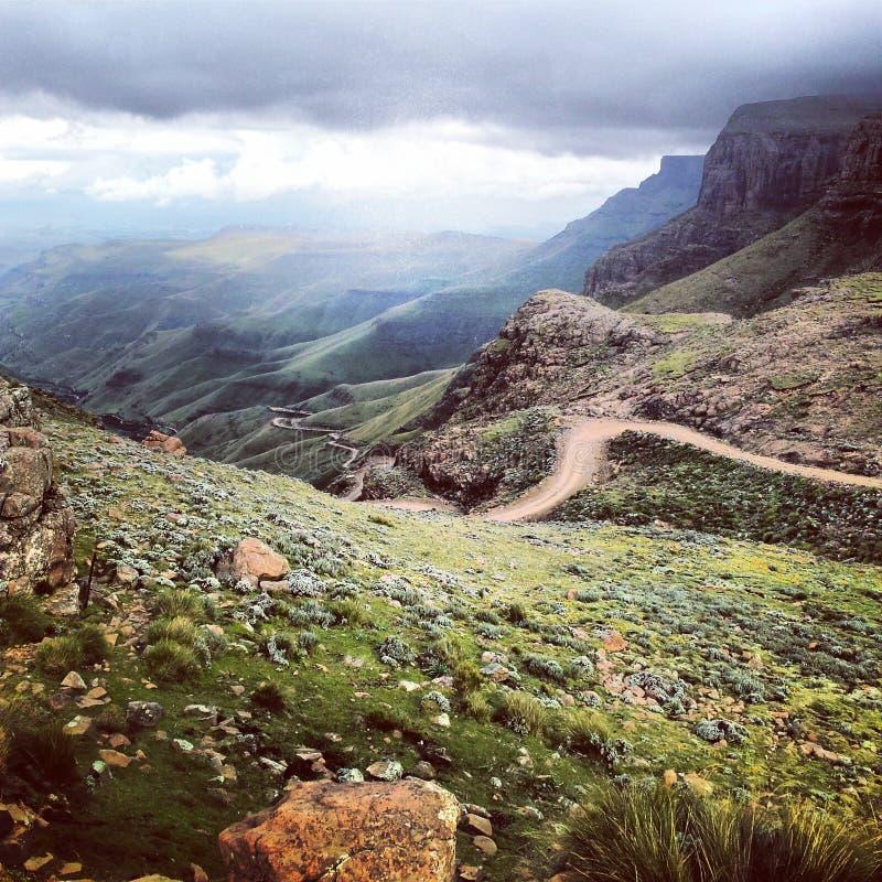 Sani Pass stock photography