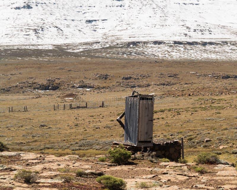 Sani przepustka Lesotho obrazy stock