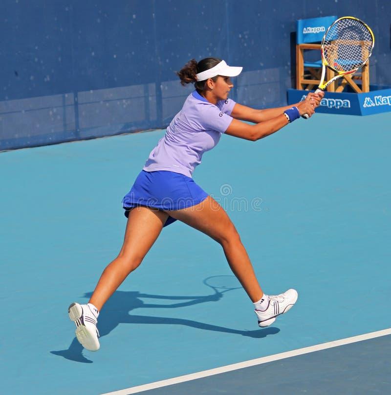 Sania Mirza (Ind), joueur de tennis professionnel photos libres de droits