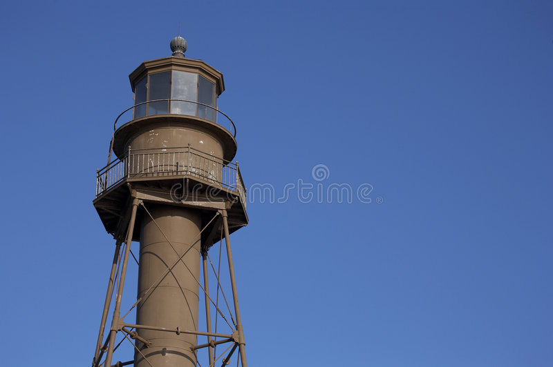sanibel маяка острова стоковое изображение