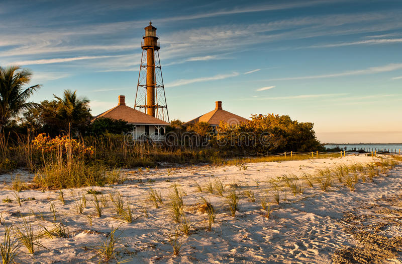 Sanibel Island Lighthouse stock image