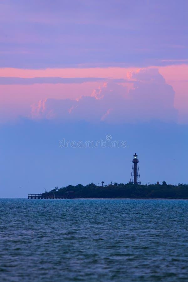 Free Sanibel Island Lighthouse Dawn Stock Images - 52562294