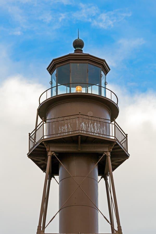 Sanibel latarni morskiej lampionu pokój fotografia stock