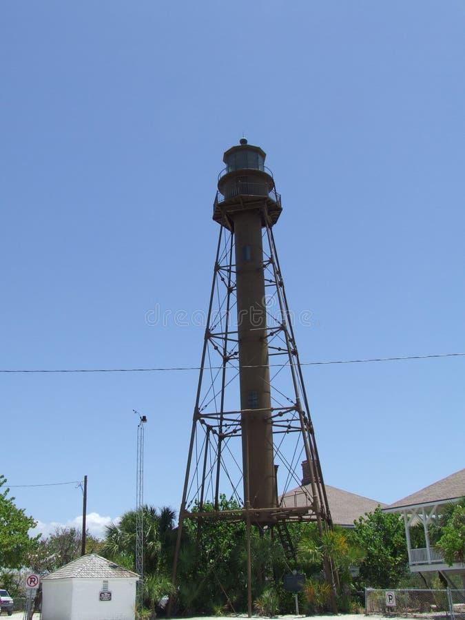 Sanibel Leuchtturm lizenzfreies stockfoto
