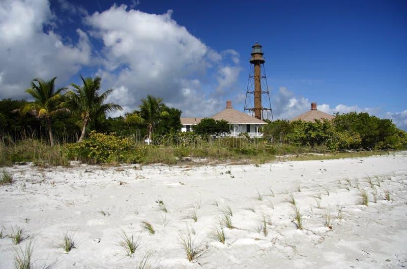 Sanibel Leuchtturm stockbild