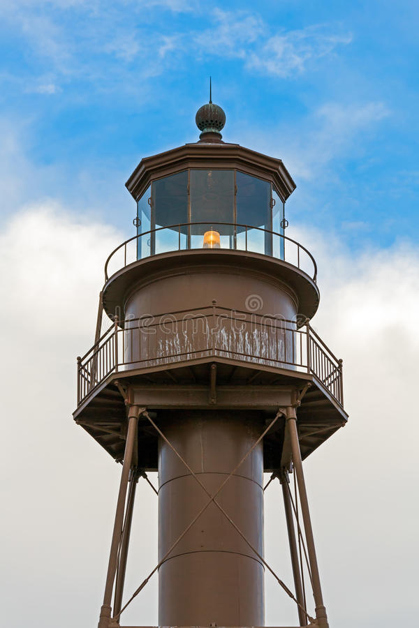 Sanibel-Leuchtturm-Laternen-Raum stockfotografie