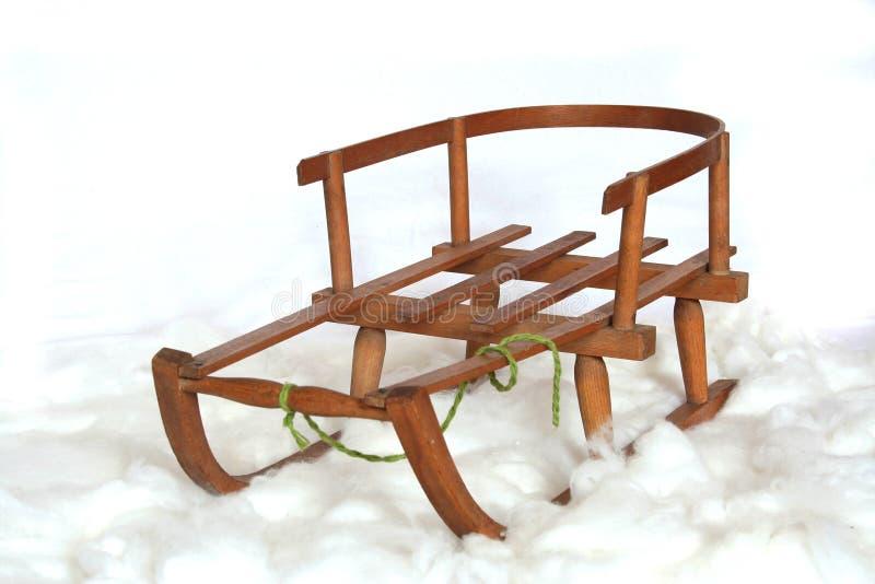 Download Sanie śnieg zdjęcie stock. Obraz złożonej z zima, szkoła - 13327106