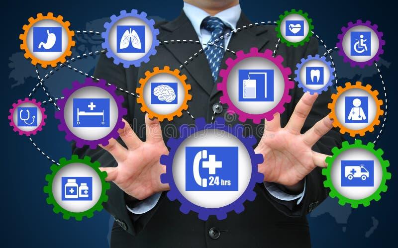 Sanità e concetto medico di affari immagini stock libere da diritti