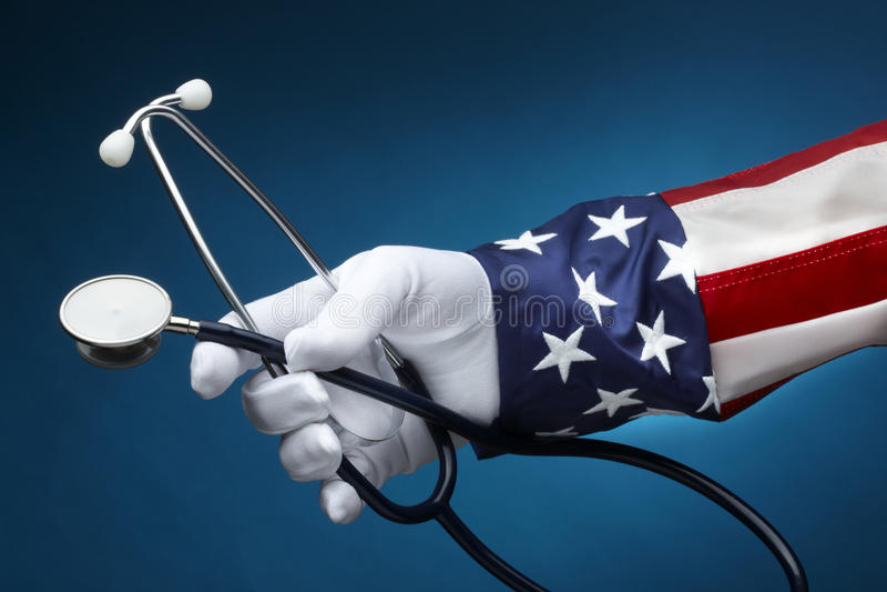 Sanità negli Stati Uniti immagine stock
