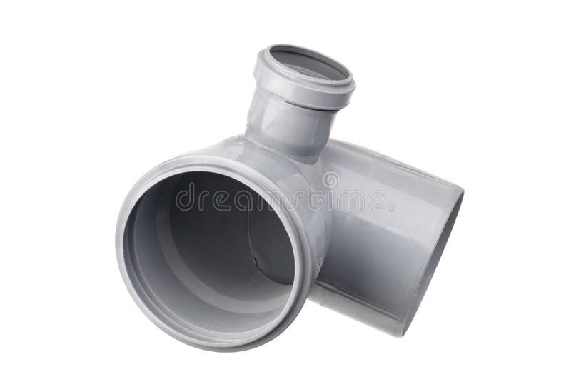 Sanitaire pvc-montage stock foto's