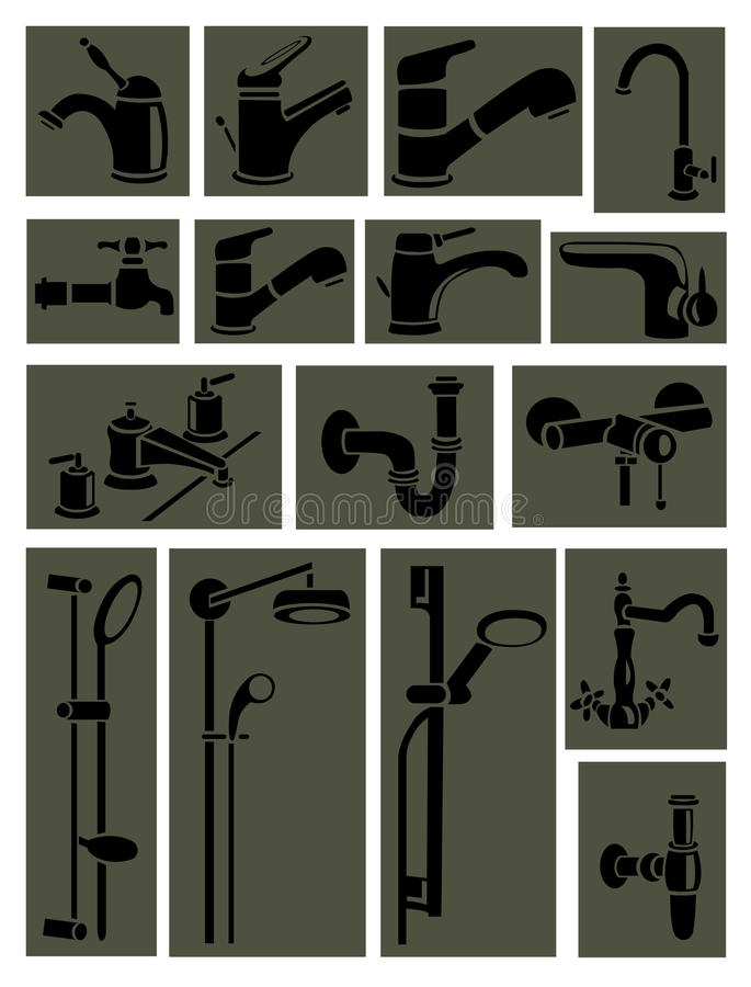 Download Sanitary engineering stock vector. Illustration of design - 24402915
