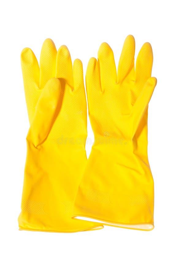 Sanitary gloves isolated stock photo