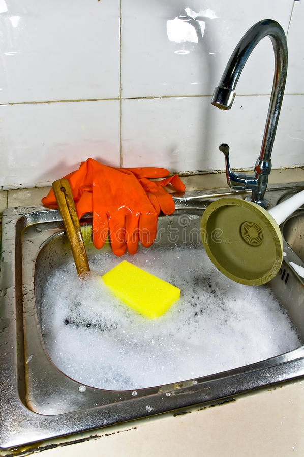 Sanitary problem still life. stock images